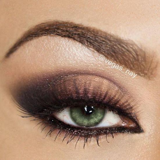 Smokey eye makeup #bold #eye #makeup #eyes