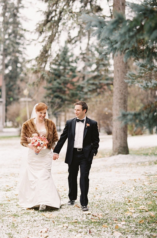 winter wedding glamour  Photography By / traceybuyce.com, Floral Design By / renaissancefloral..., Dress by moniquelhuillier....