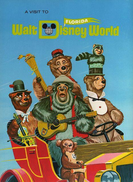 Vintage Walt Disney World advertisement.