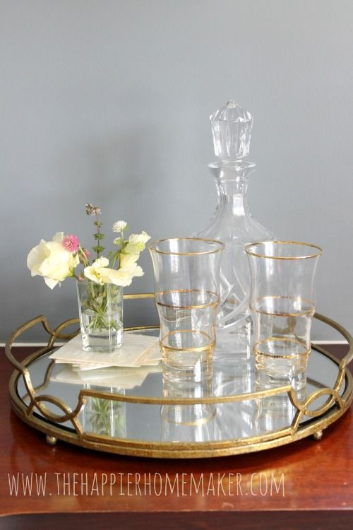 Adding Metallic Accents to your decor
