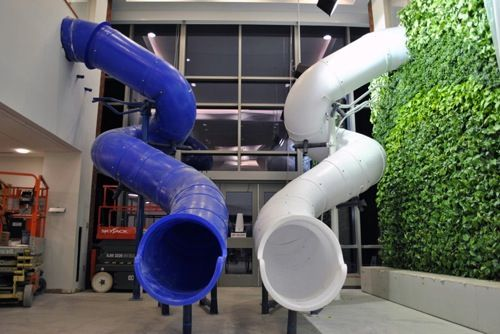 10 incredible office slides from around the world