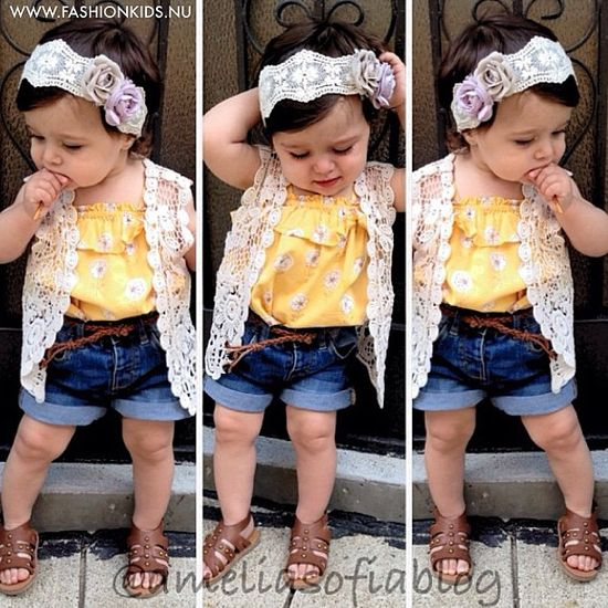 #kids #toddler #infant #baby #girl #look #fashion #style #inspiration #clothes #glam #chic #swag #shoes #summer