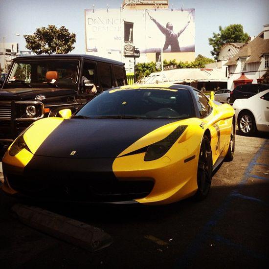Bumblebee Ferrari 458! out of this world! gorgeous!!