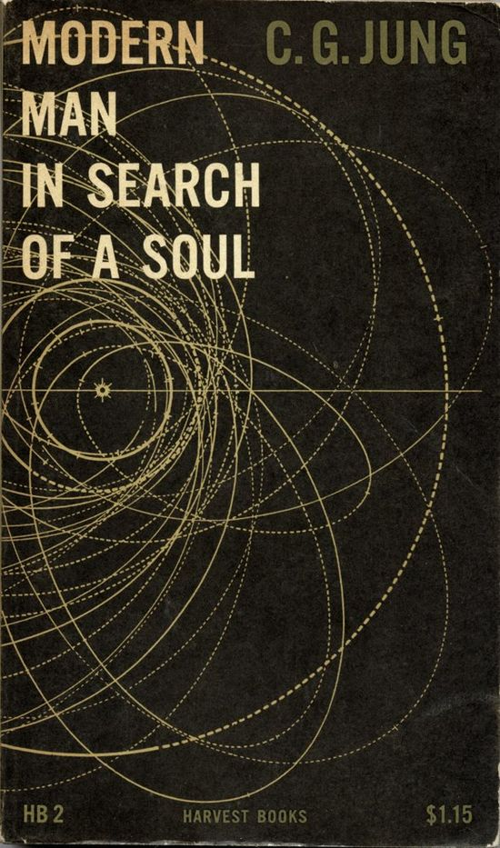 Modern Man in Search of a Soul [cover design by  Erik Nitschecirca circa 1955]