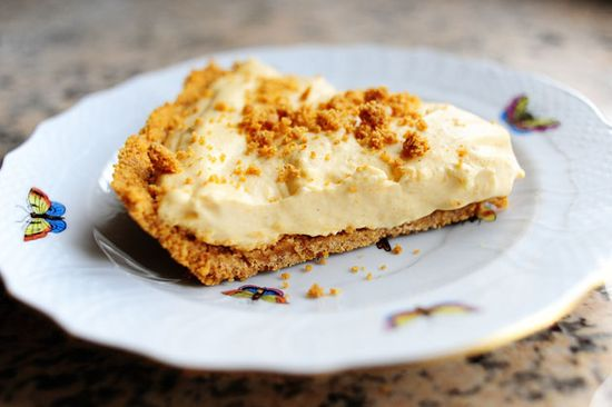 Pumpkin Cream Pie...best pumpkin pie ever! PW