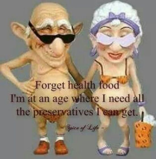 Forget health food...