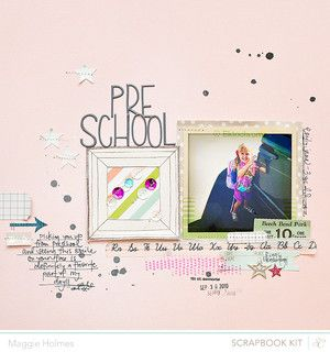 Pre-School > Main Kit Only by maggie holmes at @Studio_Calico