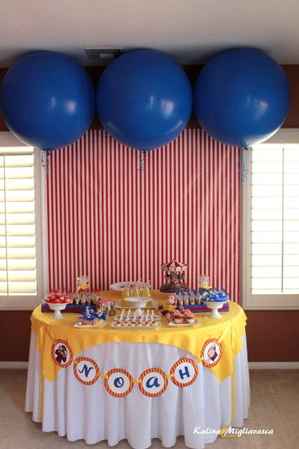 """Photo 2 of 14: Curious George / Birthday """"NOAH'S 2ND BDAY PARTY"""" 