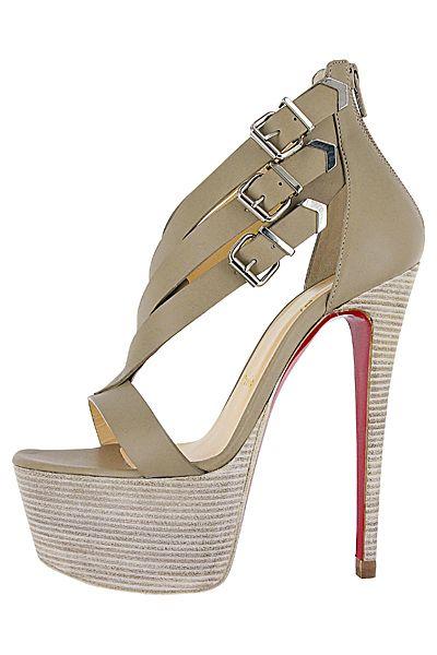 Дамски обувки—Christian Louboutin—2013 Пролет-Лято