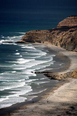 Blacks Beach, San Diego, California, USA