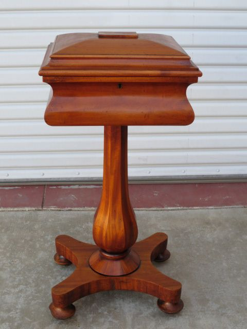 English Antique Sewing Table Work Table Teapoy Antique Furniture