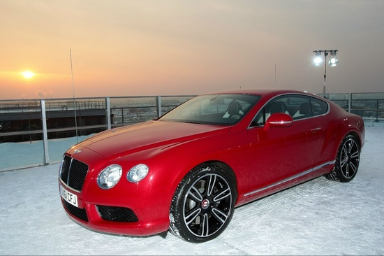 Bentley Continental GT - every car should have a photo shoot on a roof under lights bentleymotors.com