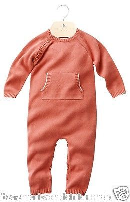 New baby Girls BABYGROW / Coverall STELLA McCARTNEY Cashmere & Organic Cotton