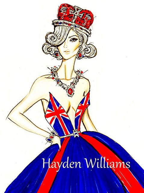 The Queen's Diamond Jubilee by Hayden Williams by Fashion_Luva, via Flickr