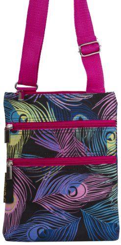 J Garden Designer Collection Small Hipster Cross Body Shoulder Bag