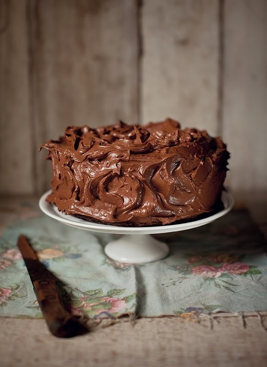 THAT is a chocolate cake. mm