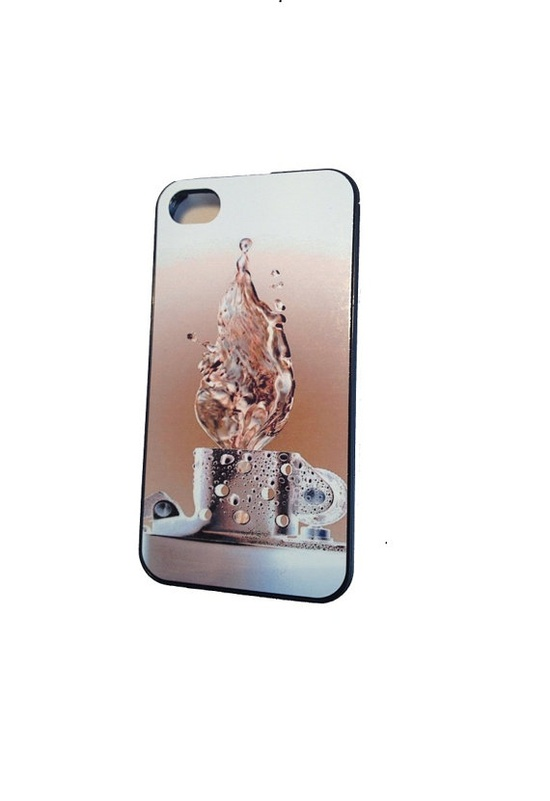Zippo  firewater  iphone case iPhone 4 / 4S Case by StyleCase