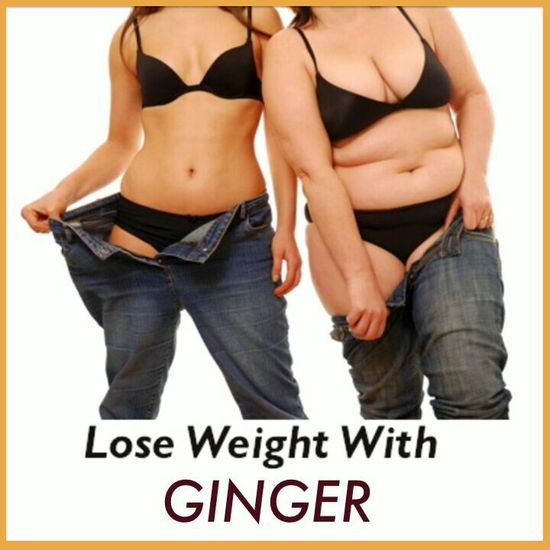 LOOSE weight with GINGER