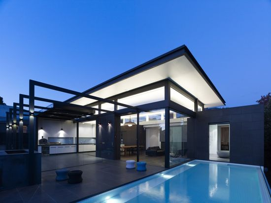 Power Street House in Hawthorne, Australia by Steve Domoney Architecture