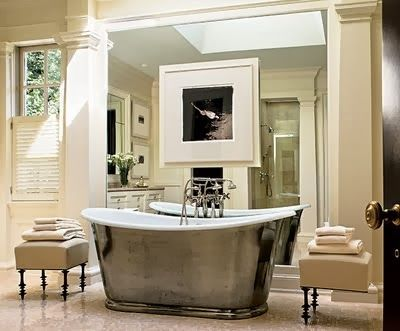 Superb bathroom, designer Thomas Pheasant.
