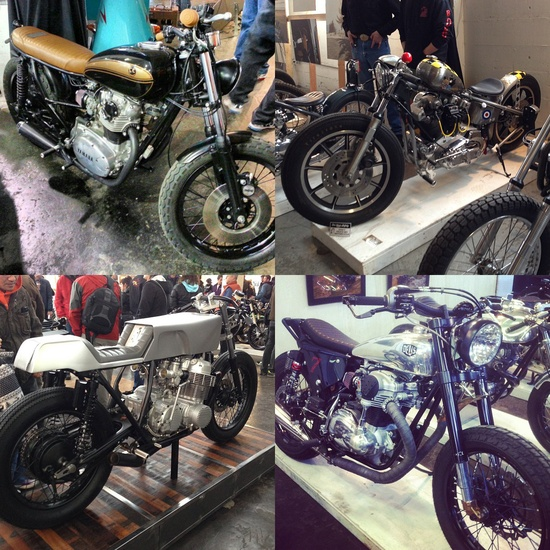 The 2013 One Motorcycle Show photos ~ Return of the Cafe Racers