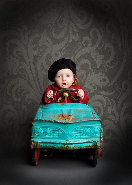 Vintage toy car
