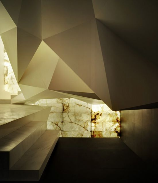 Spiritual atmosphere in Pantheon Nube, designed by Clavel Arquitectos #architecture