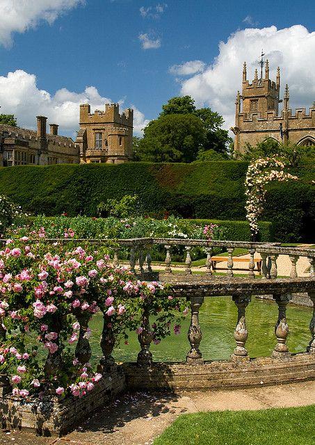~Sudeley Castle garden, Gloucestershire~