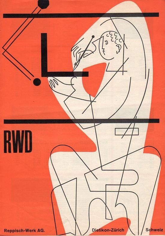 RWD Reppisch-Werk AG, Catalog Brochure, Design: Josef Müller-Brockmann, 1953