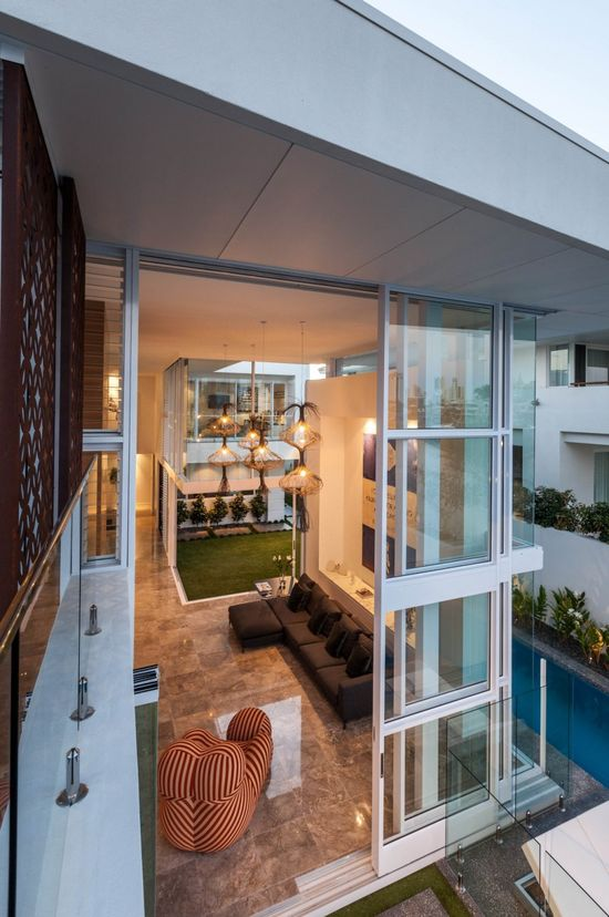Promenade Residence - BGD Architects - Queensland, Australia designed to offer a unique and permanent vacation-like living experience to its inhabitants.