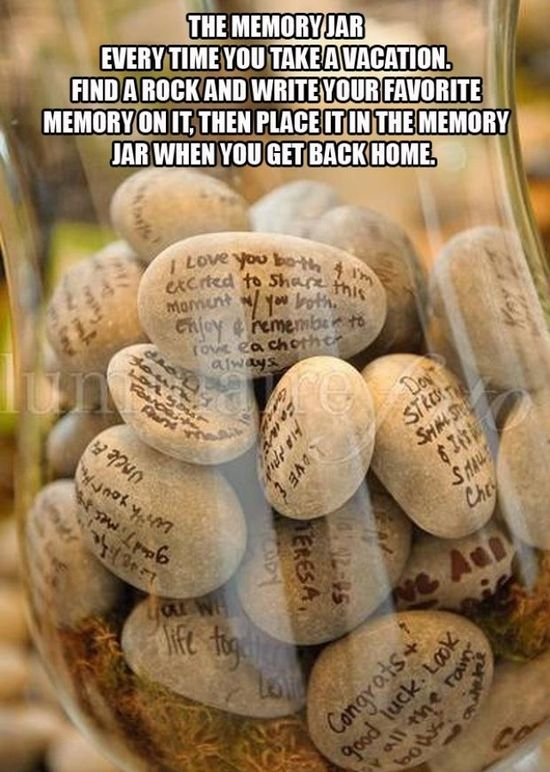Memories for a life time & home decor! Like this Tip :)