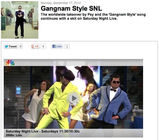 [WATCH] Gangnam Style SNL