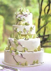 Wedding Cakes 2 x www.wisteria-aven...