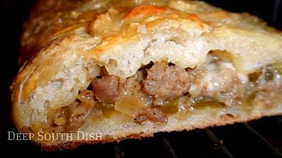 Sausage and cheese bread