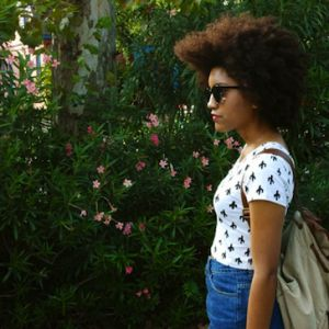 andrea \\ 4a\b natural hair style icon