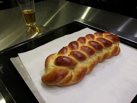 Challah.  Sorry, no recipe (Cook's Illustrated)