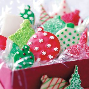 Cut Out Cookies Recipes from Taste of Home, including Shortbread Ornament Cookies Recipe