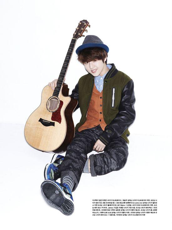 Yoo Seung Woo - Oh Boy! Magazine Vol.42