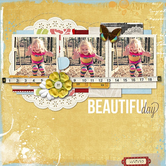 Beautiful Day - Scrapbook.com