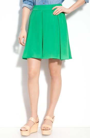 Collective Concepts Box Pleated Skirt Nordstrom $68