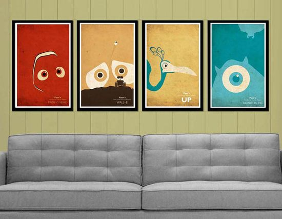 Pixar, I love this art work