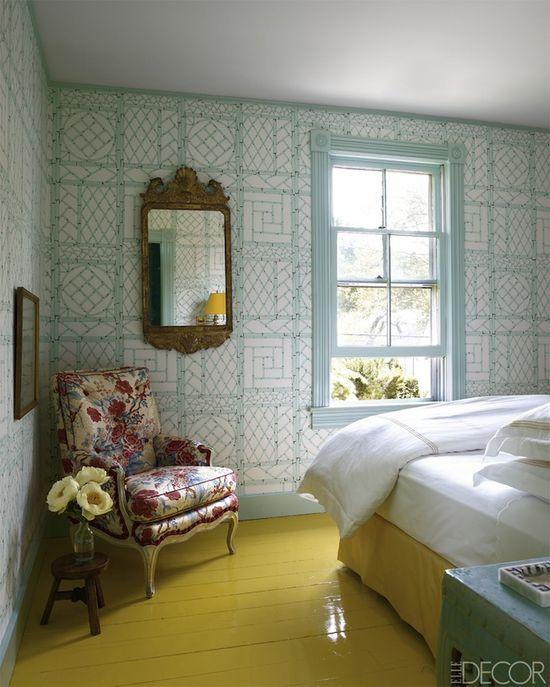 Erika Bearman's Southampton home // designed by Miles Redd