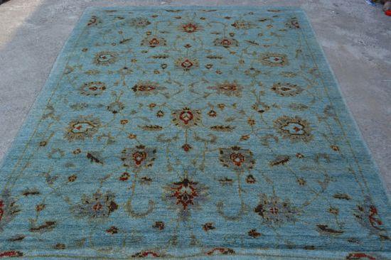 Overdyed Rug handmade rug by Nomadcarpets on Etsy