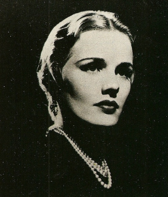 Frances Farmer, early Paramount Studios publicity shot.  circa 1936