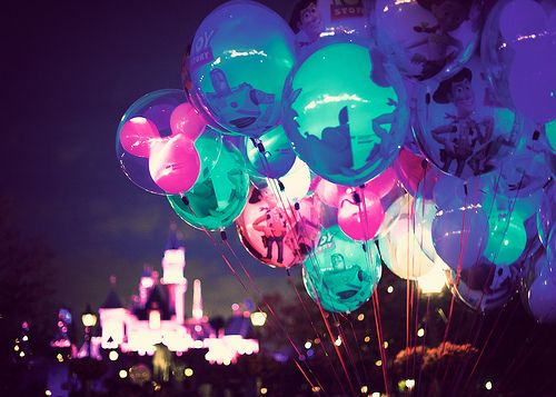 Balloons and the Castle