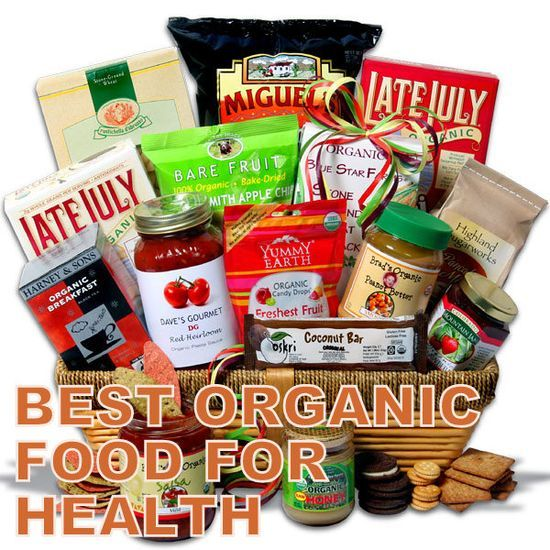 Best Organic Food For Health -