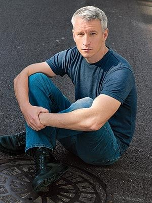 Anderson Cooper. Two words: Silver Fox.