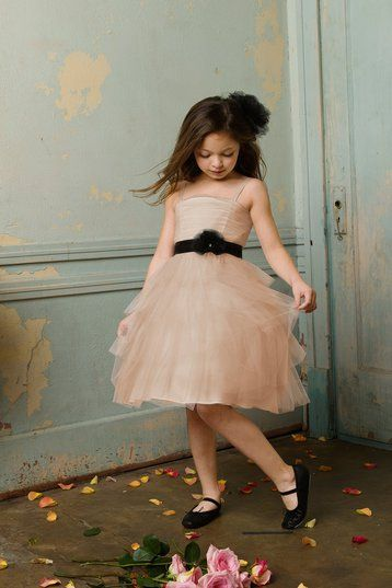 Flower Girl cute but change the shoes and flowered belt