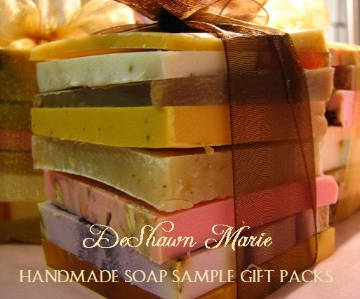 SOAP  Handmade Soap Samples,  Assorted Soap,  Vegan Soap by DeShawnMarie