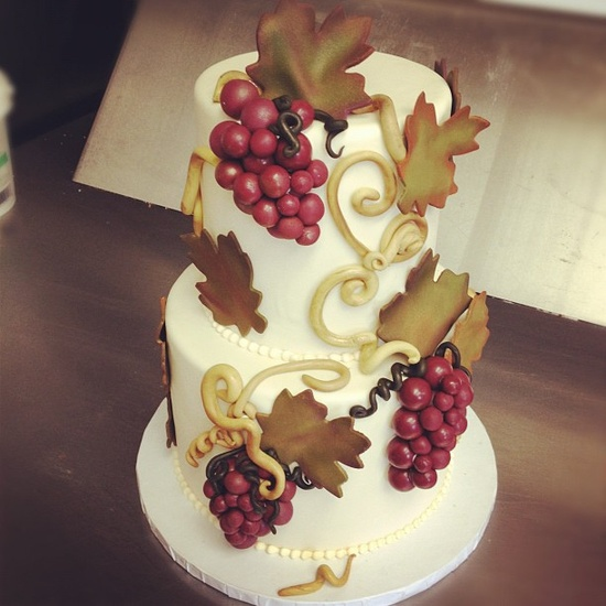 Vineyard wedding anyone?.. by thecakemamas, via Flickr